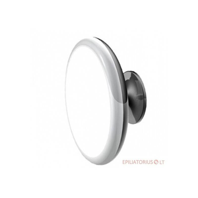Prilipinamas kosmetinis didinantis veidrodis su pšvietimu (x5)
