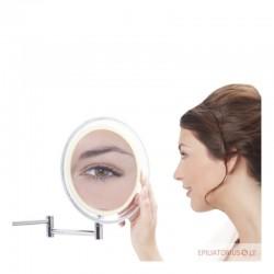 Padidinamas veidrodis su LED apšvietimu (x10)