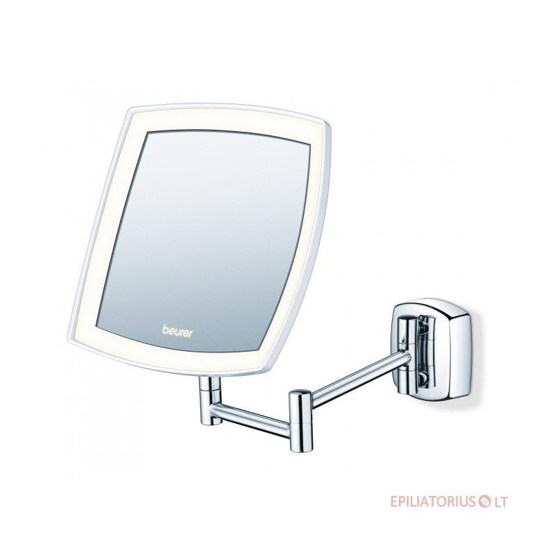 Prie sienos tvirtinamas kosmetinis veidrodis Beurer BS89 su baterijom