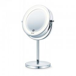Dvipusis kosmetinis veidrodis Beurer BS55 su apšvietimu ir stovu (BS 55)